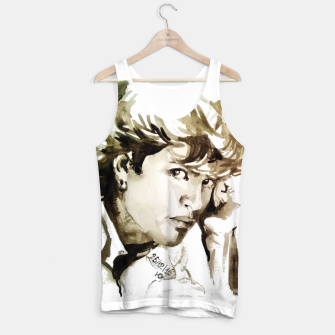Thumbnail image of George Michael young memories Tank Top, Live Heroes