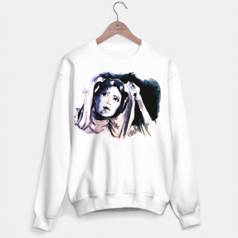 Thumbnail image of Princess starwar Carrie Fisher tribute Sweater regular, Live Heroes