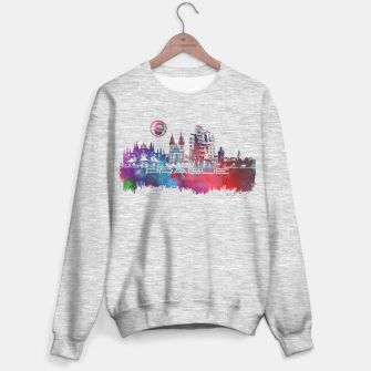 Thumbnail image of Prague skyline Sweater regular, Live Heroes