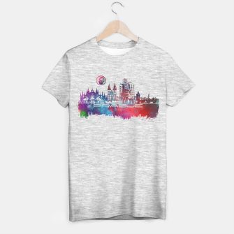 Thumbnail image of Prague skyline T-shirt regular, Live Heroes