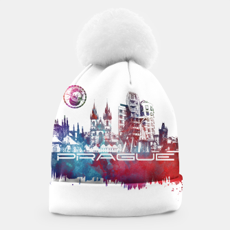 Thumbnail image of Prague skyline Beanie, Live Heroes