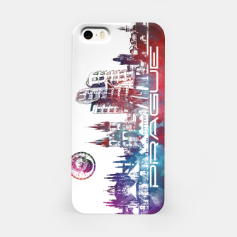Thumbnail image of Prague skyline iPhone Case, Live Heroes