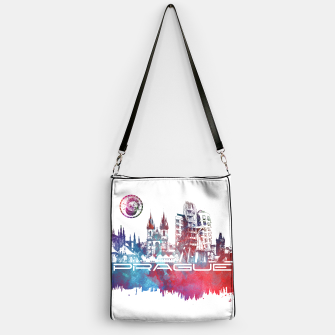 Thumbnail image of Prague skyline Handbag, Live Heroes