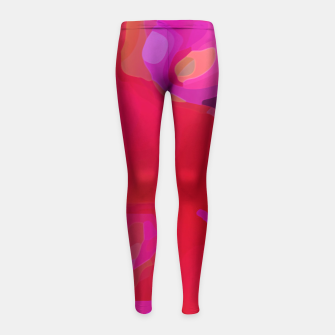 Thumbnail image of Spring Blush Girl's Leggings, Live Heroes