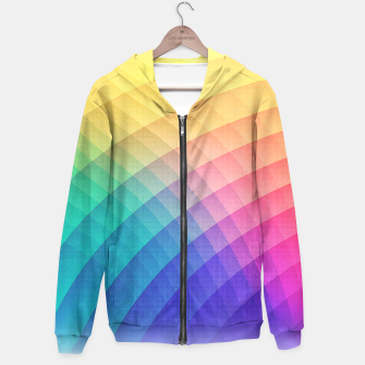 Miniaturka Spectrum Bomb! Fruity Fresh (HDR Rainbow Colorful Experimental Pattern) Hoodie, Live Heroes