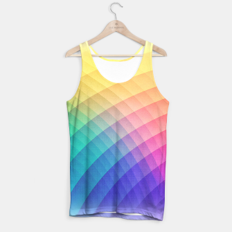 Spectrum Bomb! Fruity Fresh (HDR Rainbow Colorful Experimental Pattern) Tank Top miniature