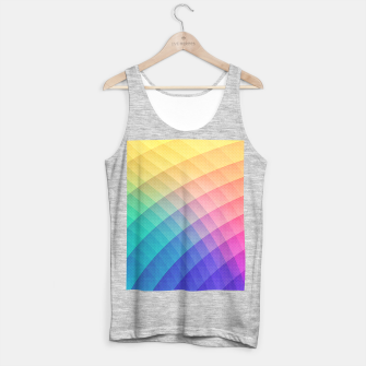 Spectrum Bomb! Fruity Fresh (HDR Rainbow Colorful Experimental Pattern) Tank Top regular miniature