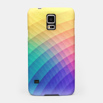 Spectrum Bomb! Fruity Fresh (HDR Rainbow Colorful Experimental Pattern) Samsung Case miniature