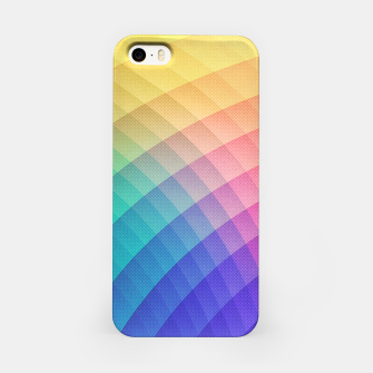 Spectrum Bomb! Fruity Fresh (HDR Rainbow Colorful Experimental Pattern) iPhone Case miniature