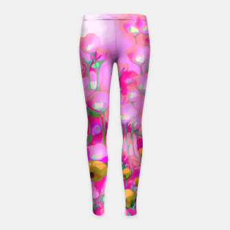 Thumbnail image of Spring Blush, too ... Girl's Leggings, Live Heroes