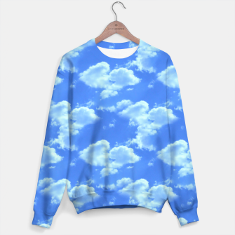 Thumbnail image of Blue Skies Photographic Pattern Sweater, Live Heroes