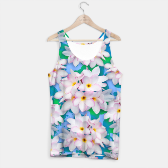 Thumbnail image of Plumeria Bouquet Exotic Summer Pattern  Tank Top, Live Heroes