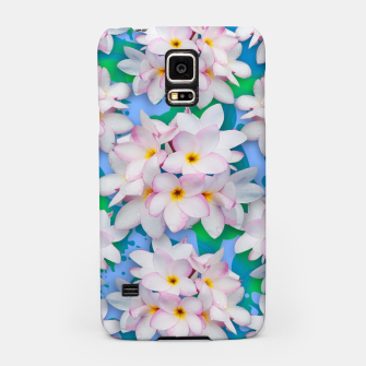 Thumbnail image of Plumeria Bouquet Exotic Summer Pattern  Samsung Case, Live Heroes