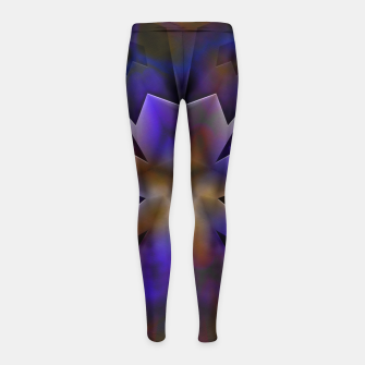 Thumbnail image of The Enigma Key Girl's Leggings, Live Heroes