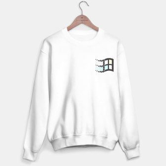 Thumbnail image of Micro Pastel Windows Sweater regular, Live Heroes