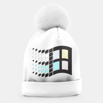 Thumbnail image of Micro Pastel Windows Beanie, Live Heroes