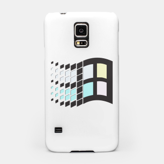 Thumbnail image of Micro Pastel Windows Samsung Case, Live Heroes