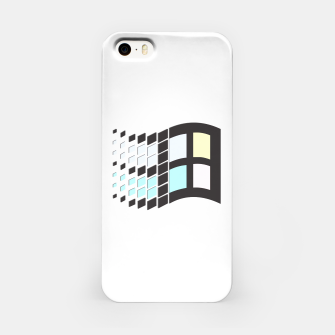 Thumbnail image of Micro Pastel Windows iPhone Case, Live Heroes