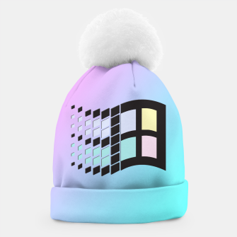 Thumbnail image of Micro Pastel (BG) Windows Beanie, Live Heroes
