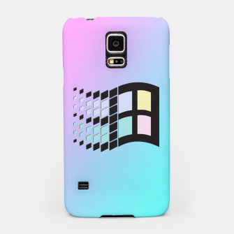 Thumbnail image of Micro Pastel (BG) Windows Samsung Case, Live Heroes