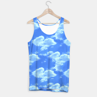 Thumbnail image of Blue Skies Photographic Pattern Tank Top, Live Heroes