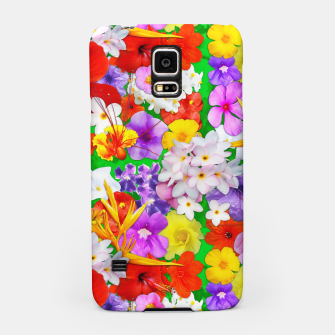 Thumbnail image of Exotic Flowers Colorful Explosion  Samsung Case, Live Heroes