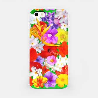 Thumbnail image of Exotic Flowers Colorful Explosion  iPhone Case, Live Heroes