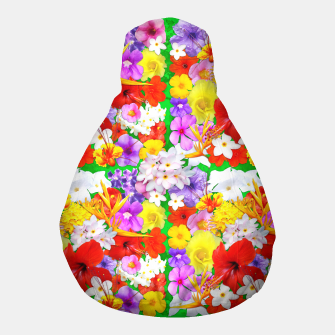 Thumbnail image of Exotic Flowers Colorful Explosion  Pouf, Live Heroes
