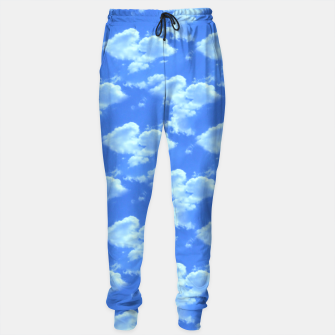 Thumbnail image of Blue Skies Photographic Pattern Sweatpants, Live Heroes