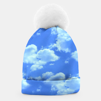 Thumbnail image of Blue Skies Photographic Pattern Beanie, Live Heroes