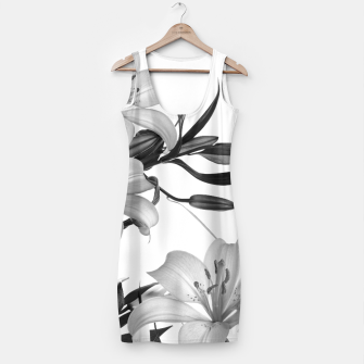 Thumbnail image of Tropical Lilies Simple Dress, Live Heroes