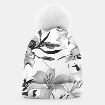 Thumbnail image of Tropical Lilies Beanie, Live Heroes