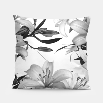 Thumbnail image of Tropical Lilies Pillow, Live Heroes