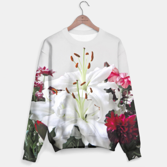 Thumbnail image of Pretty Lilies Sweater, Live Heroes