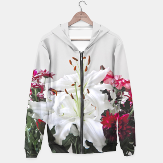 Thumbnail image of Pretty Lilies Hoodie, Live Heroes