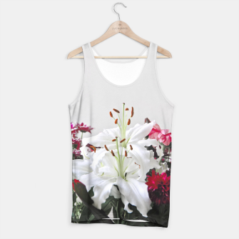 Thumbnail image of Pretty Lilies Tank Top, Live Heroes