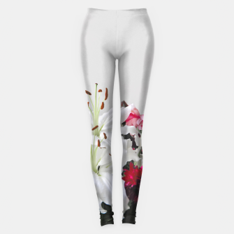Thumbnail image of Pretty Lilies Leggings, Live Heroes