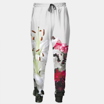 Thumbnail image of Pretty Lilies Sweatpants, Live Heroes