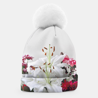 Thumbnail image of Pretty Lilies Beanie, Live Heroes