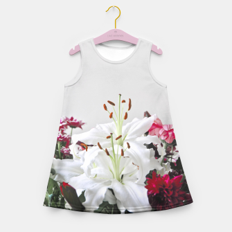 Thumbnail image of Pretty Lilies Girl's Summer Dress, Live Heroes