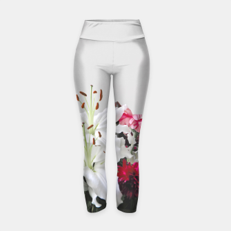 Thumbnail image of Pretty Lilies Yoga Pants, Live Heroes