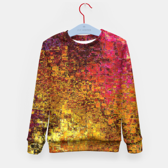 Thumbnail image of Warm Kid's Sweater, Live Heroes