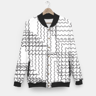 Thumbnail image of Diced  Baseball Jacket, Live Heroes