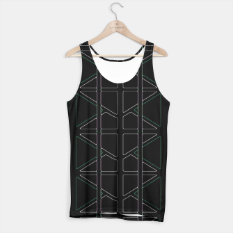 Thumbnail image of Stain Glassed  Tank Top, Live Heroes