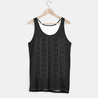 Thumbnail image of Stain Glassed  Tank Top regular, Live Heroes