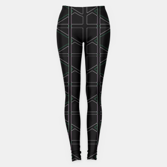 Thumbnail image of Stain Glassed  Leggings, Live Heroes
