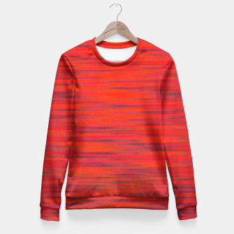 Thumbnail image of Simply Red Fitted Waist Sweater, Live Heroes