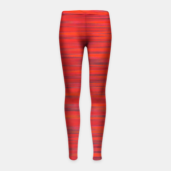 Thumbnail image of Simply Red Girl's Leggings, Live Heroes