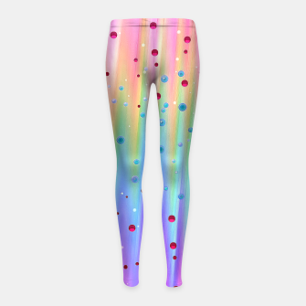 Thumbnail image of Sounds of Bubbles Girl's Leggings, Live Heroes