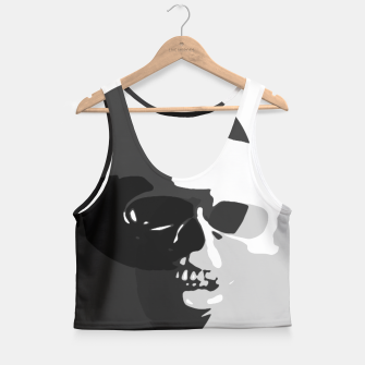 Thumbnail image of Shadows of Death Crop Top, Live Heroes